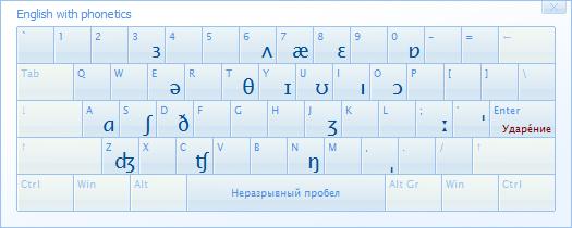 Type It Easy с английской транскрипцией